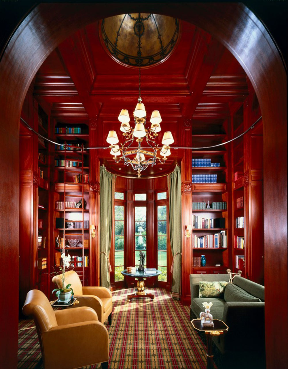 Creating a Home Library Design Makes for a Relaxing Space9 Creating a Home Library Design Makes for a Relaxing Space