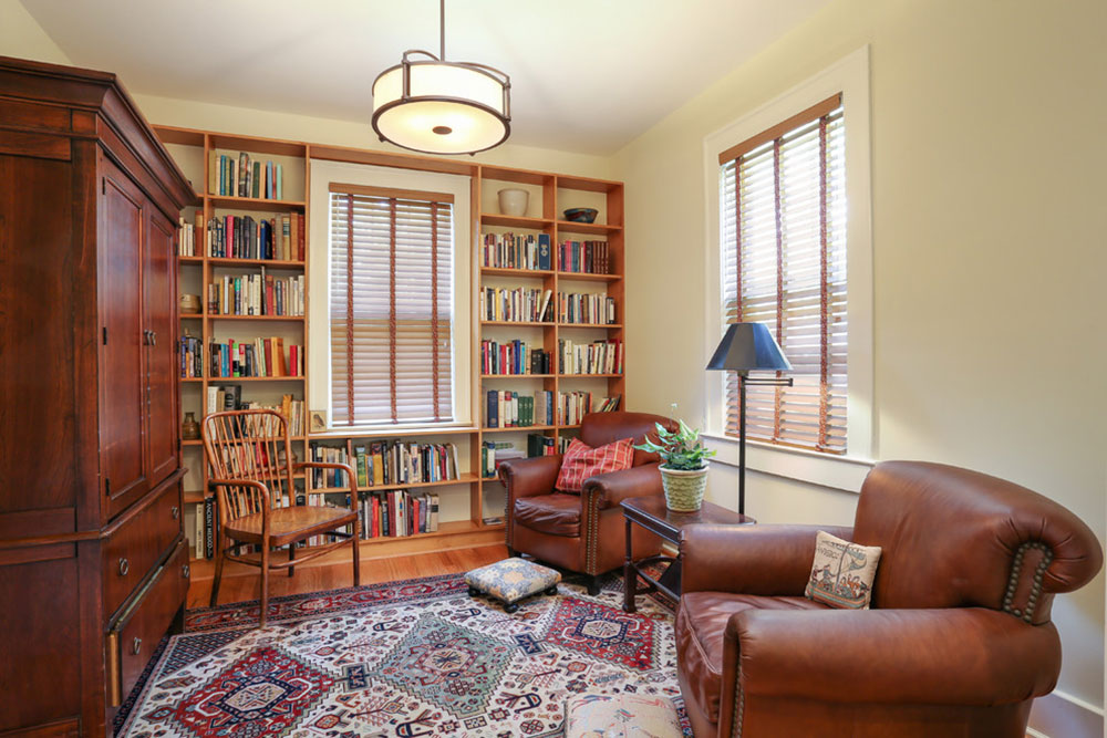 Creating a Home Library Design Makes for a Relaxing Space14 Creating a Home Library Design makes for a relaxing space