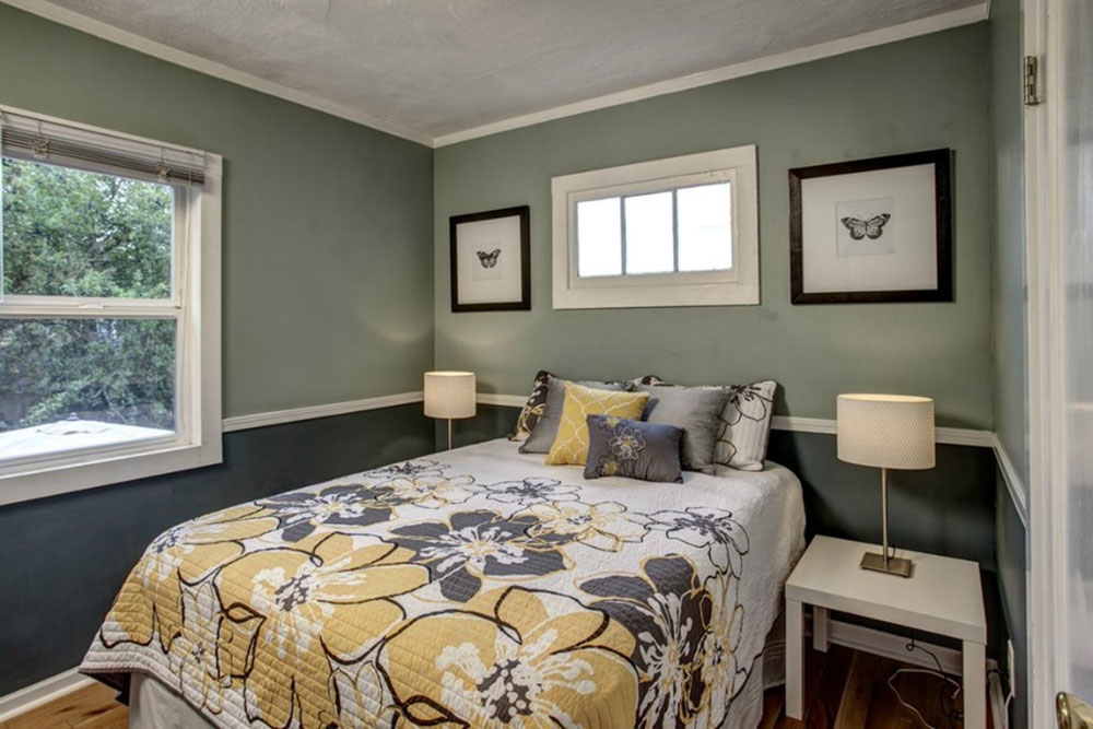 Tips for decorating a room with two-tone walls 3 tips for decorating a room with two-tone walls