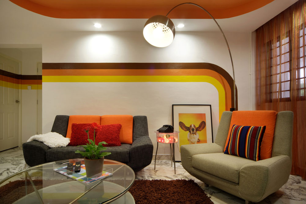 Tips for decorating a room with two-tone walls2 tips for decorating a room with two-tone walls