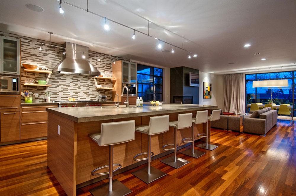 Modern Kitchen Island Designs with Seating-4 Modern Kitchen Island Designs with Seating