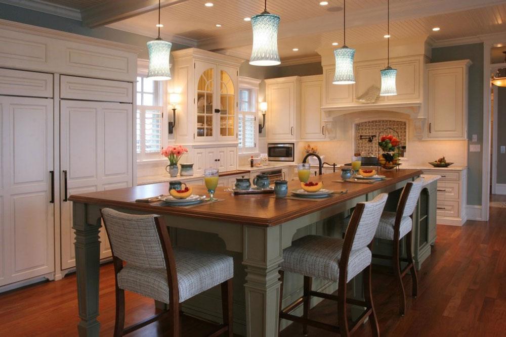 Modern Kitchen Island Designs with Seating-11 Modern Kitchen Island Designs with Seating