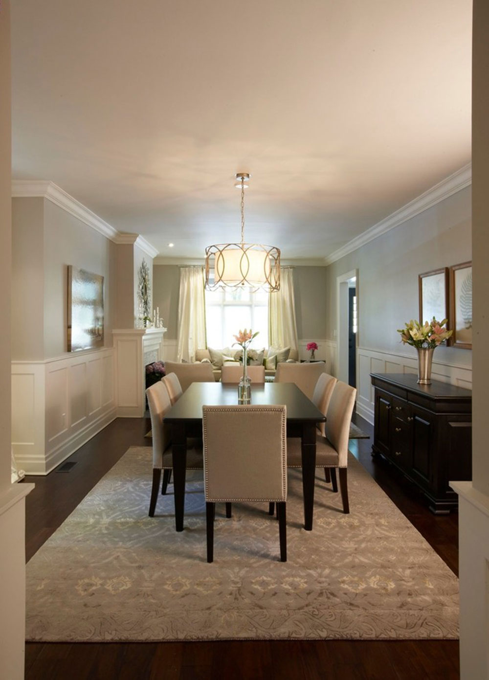 How to choose a chandelier for the dining room5 How to choose a chandelier for the dining room