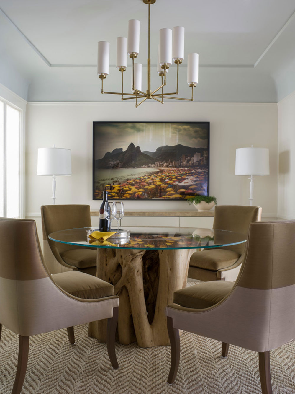How to choose a chandelier for the dining room11 How to choose a chandelier for the dining room