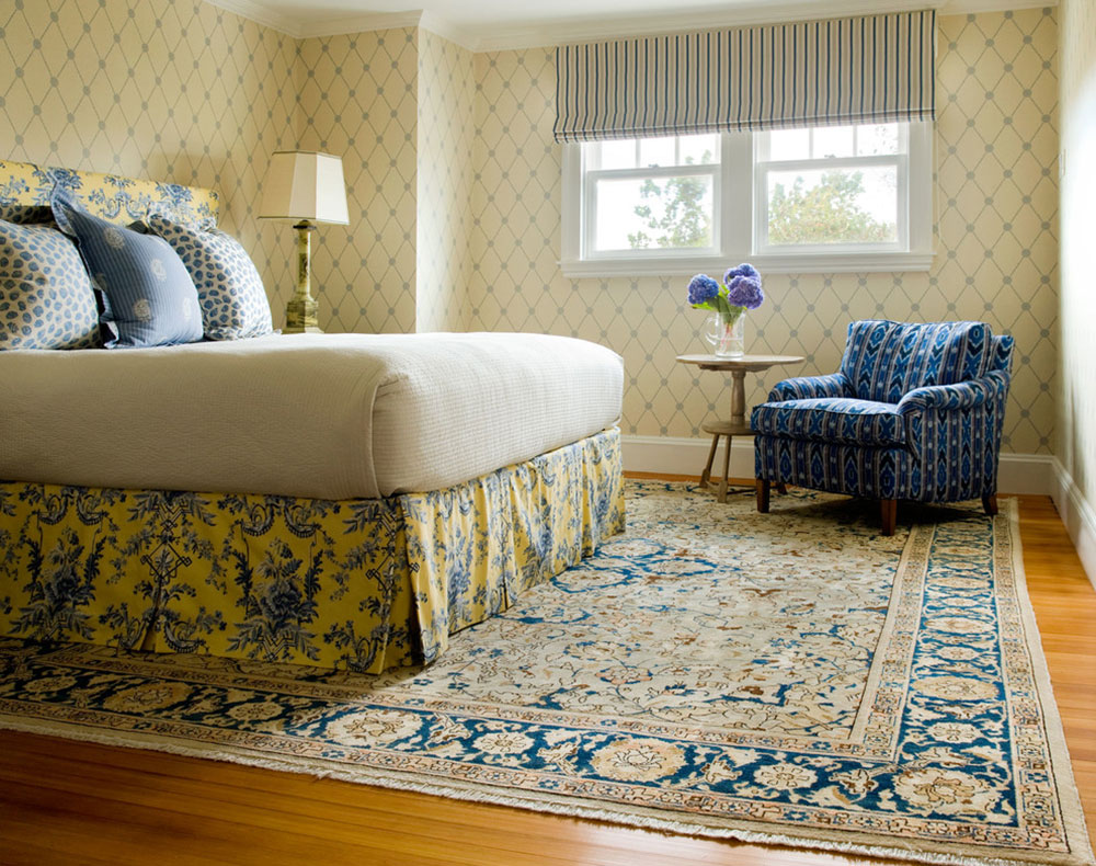 How to decorate with antique carpets15 How to decorate with antique carpets