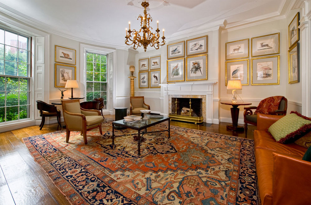 How to decorate with antique carpets1 How to decorate with antique carpets