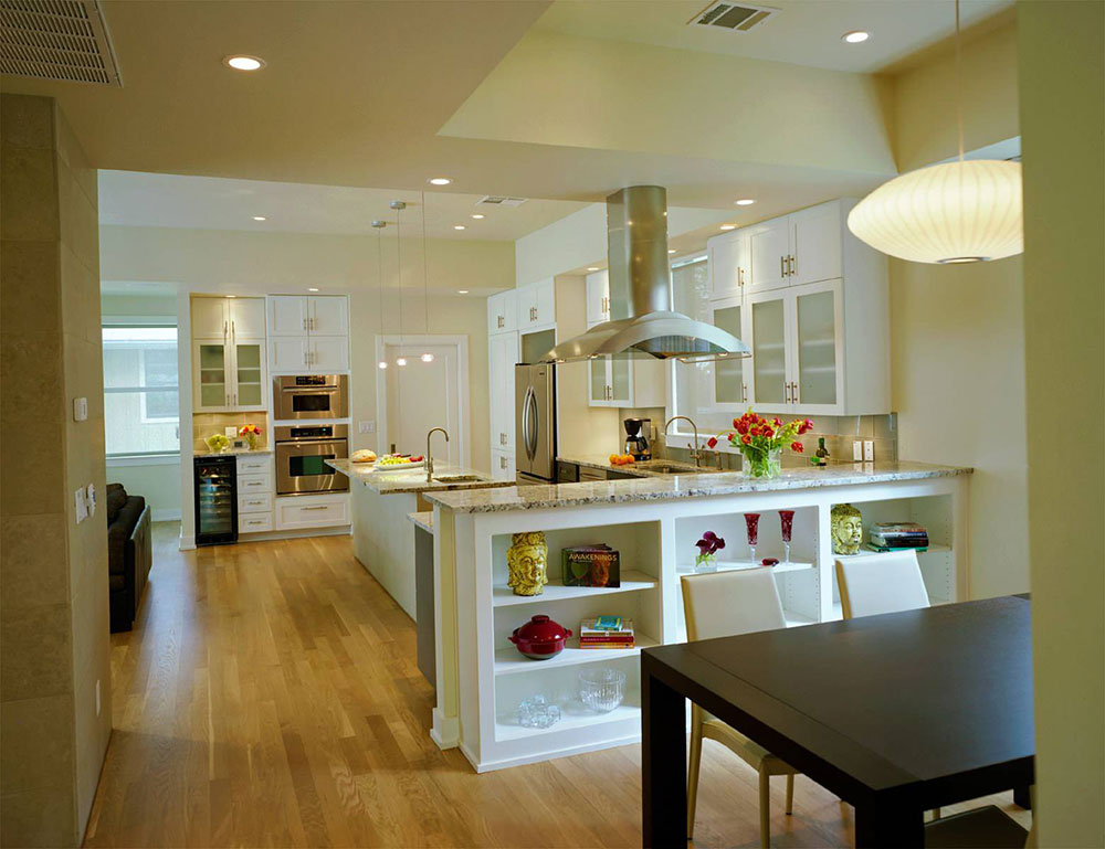 Open Kitchen and Living Room Design Ideas3 Open Kitchen and Living Room Design Ideas
