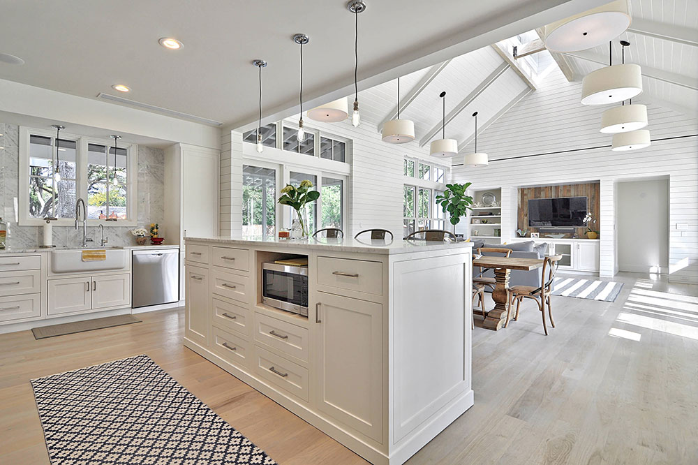 Open Kitchen and Living Room Design Ideas7 Open Kitchen and Living Room Design Ideas