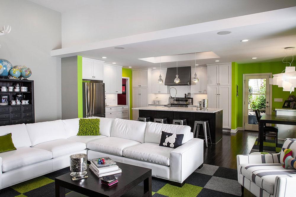 Open-Kitchen-And-Living-Room-Design-Ideen6 Open Kitchen and Living Room Design Ideas