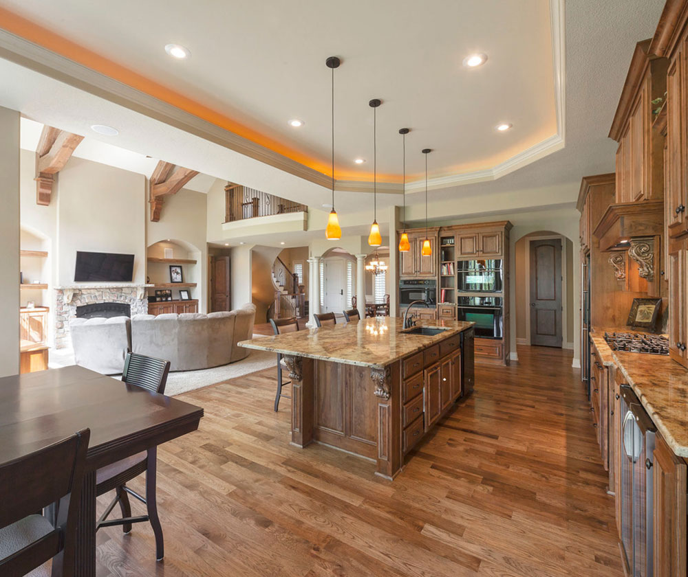 Open Kitchen and Living Room Design Ideas4 Open Kitchen and Living Room Design Ideas
