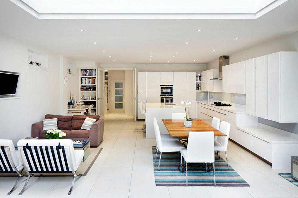 Open Kitchen and Living Room Design Ideas5 Open Kitchen and Living Room Design Ideas