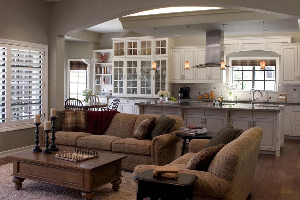 Open-Kitchen-And-Living-Room-Design-Ideen11 Open Kitchen and Living Room Design Ideas