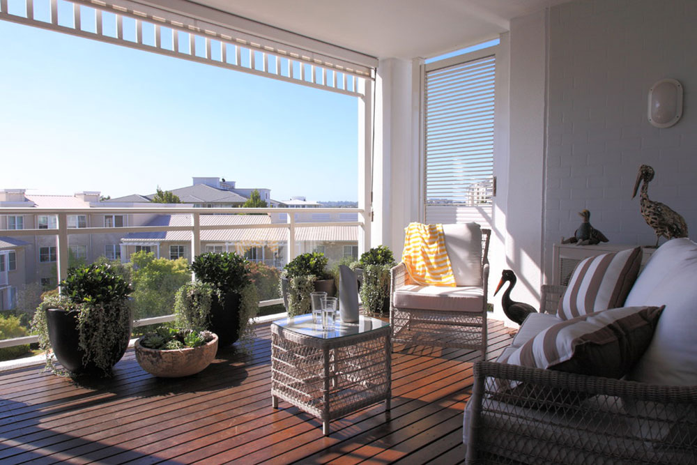 How to decorate an apartment balcony2 How to decorate an apartment balcony