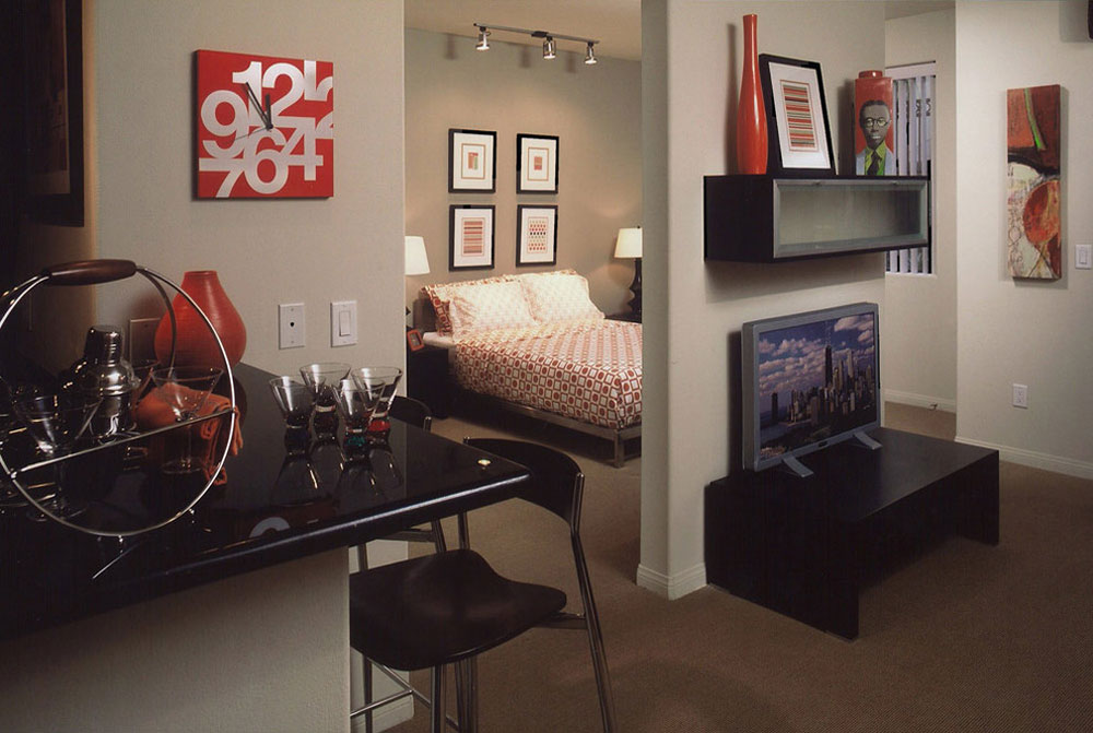 Small apartment to decorate and furnish on a budget 5 Small apartment to decorate and furnish on a budget