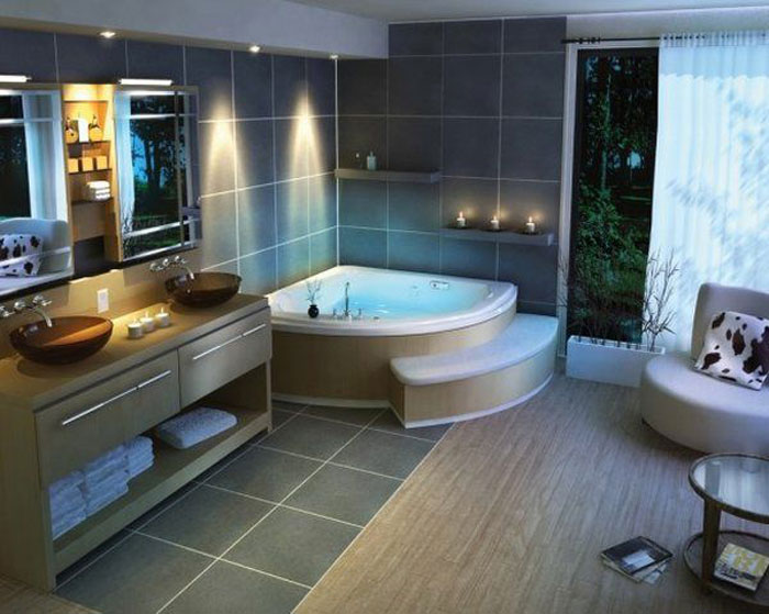 73416250032 tips and ideas for remodeling the bathroom (26 images)