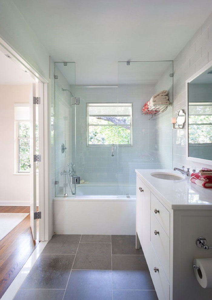 77376741926 Tips and ideas for remodeling the bathroom (26 images)