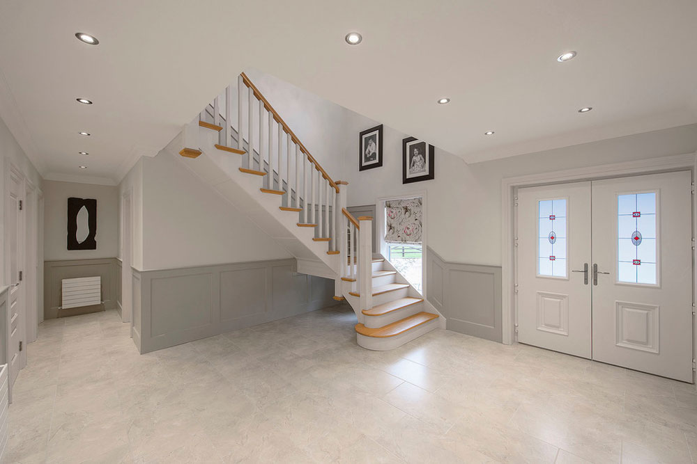Creating the interior design for the entrance hall. 11 Creating the interior design for the entrance hall