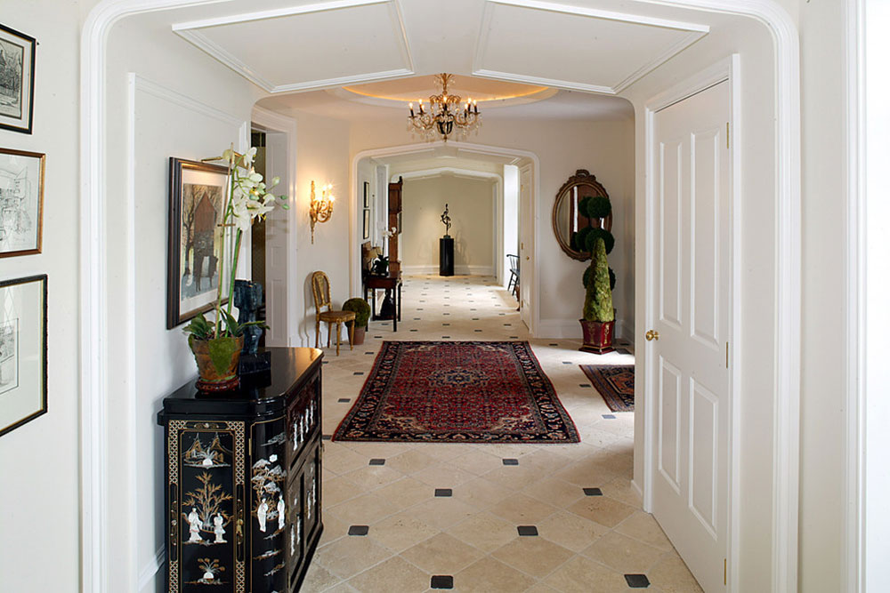 Creating the interior design for the entrance hall. 10 Creating the interior design for the entrance hall