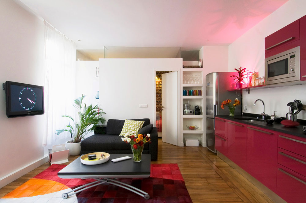 Small-apartment-furniture-and-interior-design-12-1 Small apartment furniture and interior design