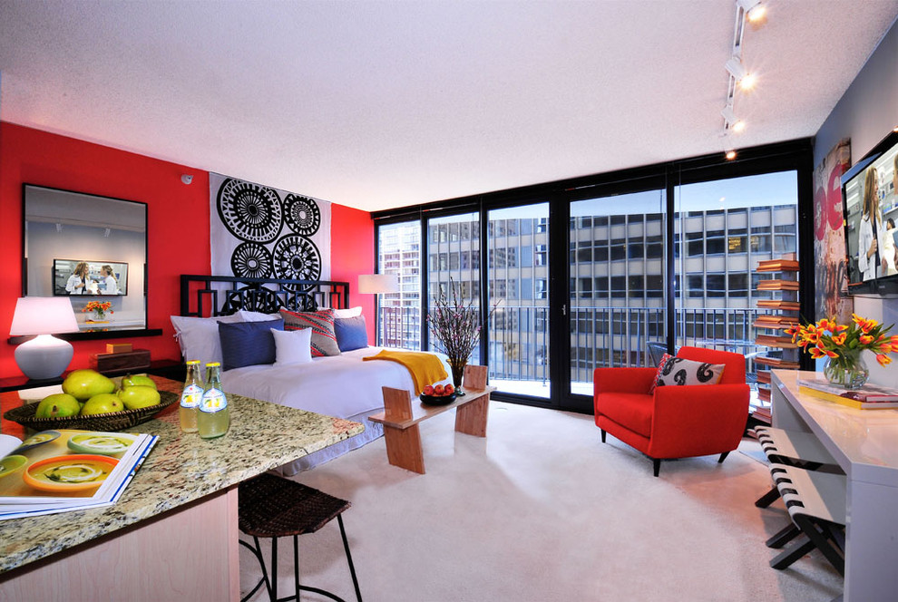 How to decorate a studio apartment-11-1 How to decorate a studio apartment