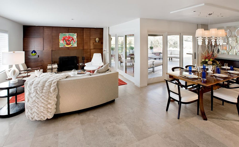 modern-living-room1 Selection of the best flooring for pet owners