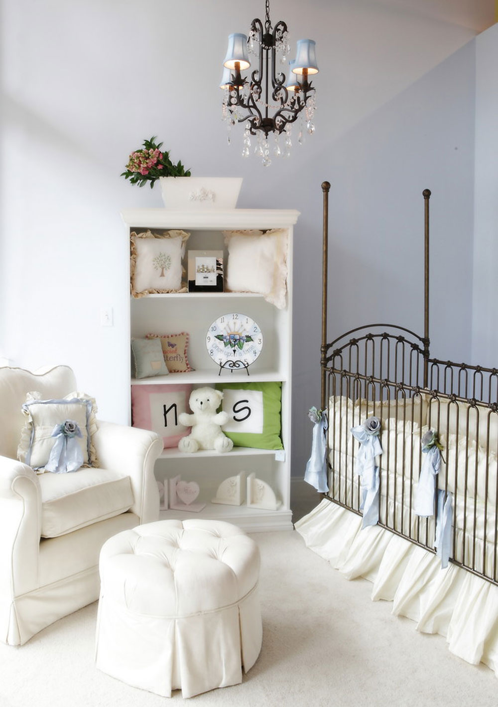 141 baby nursery color schemes for your baby room