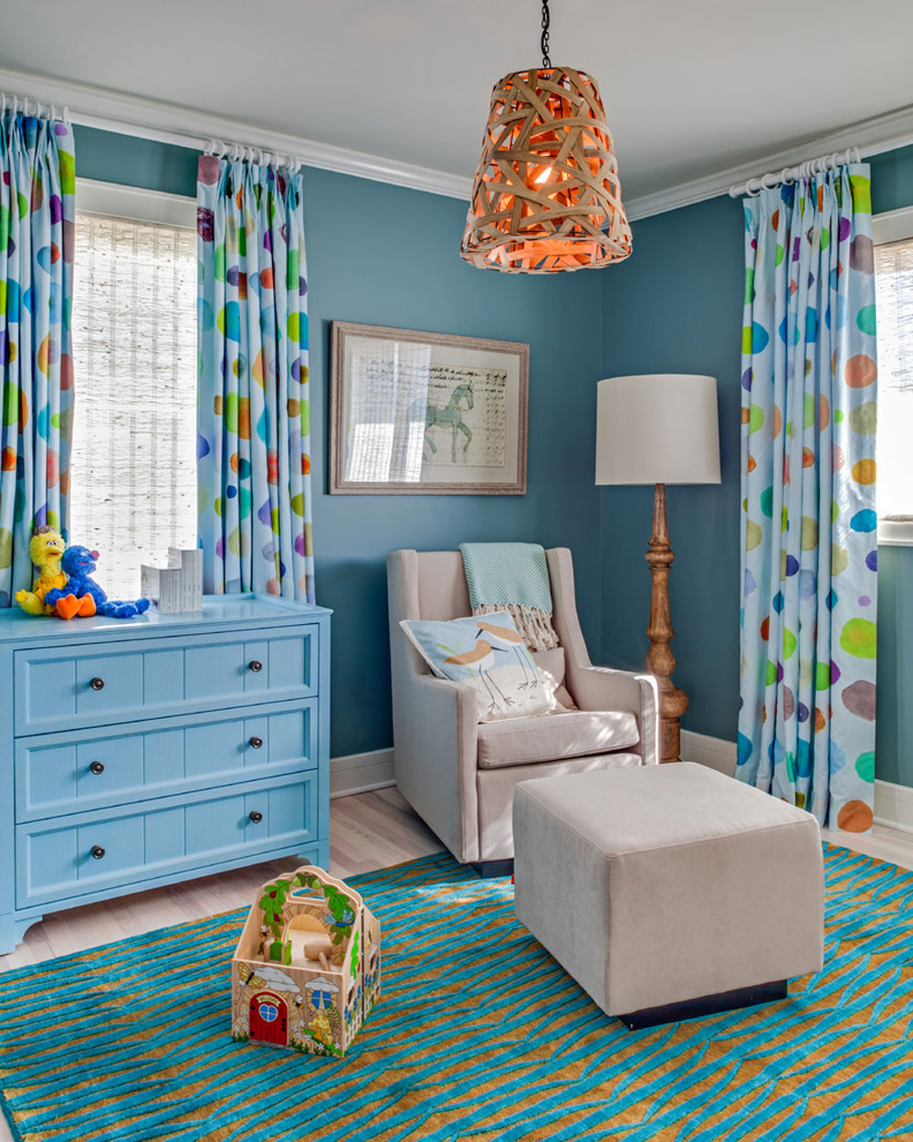 91 baby nursery color schemes for your baby's room