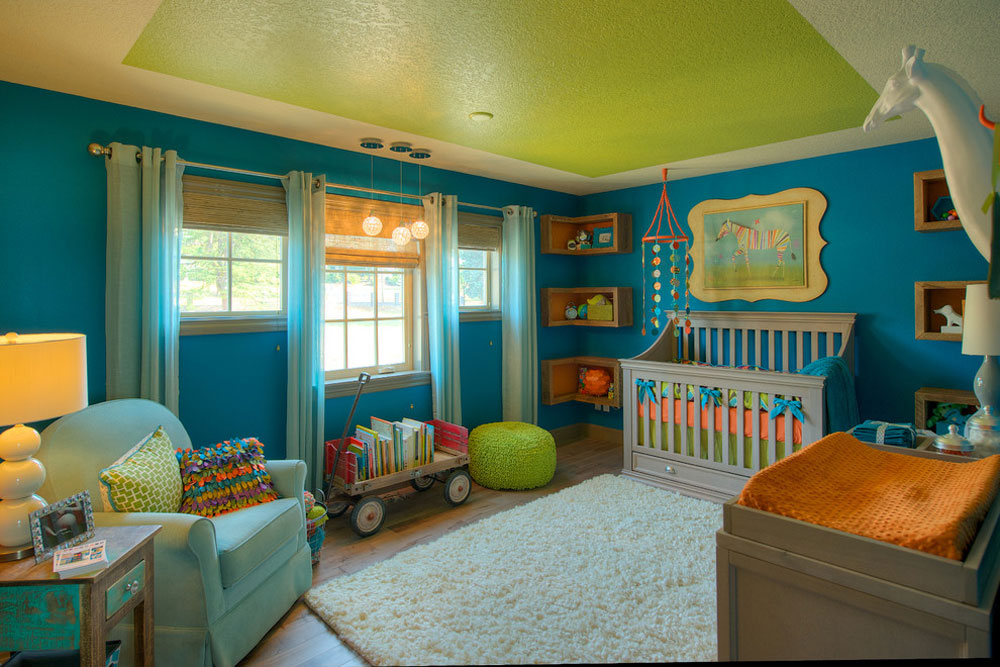 121 baby nursery color schemes for your baby's room