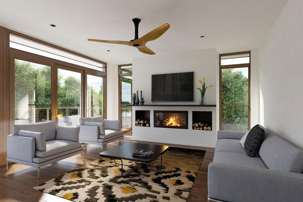 110 Building an energy-efficient house with an energy-saving interior design