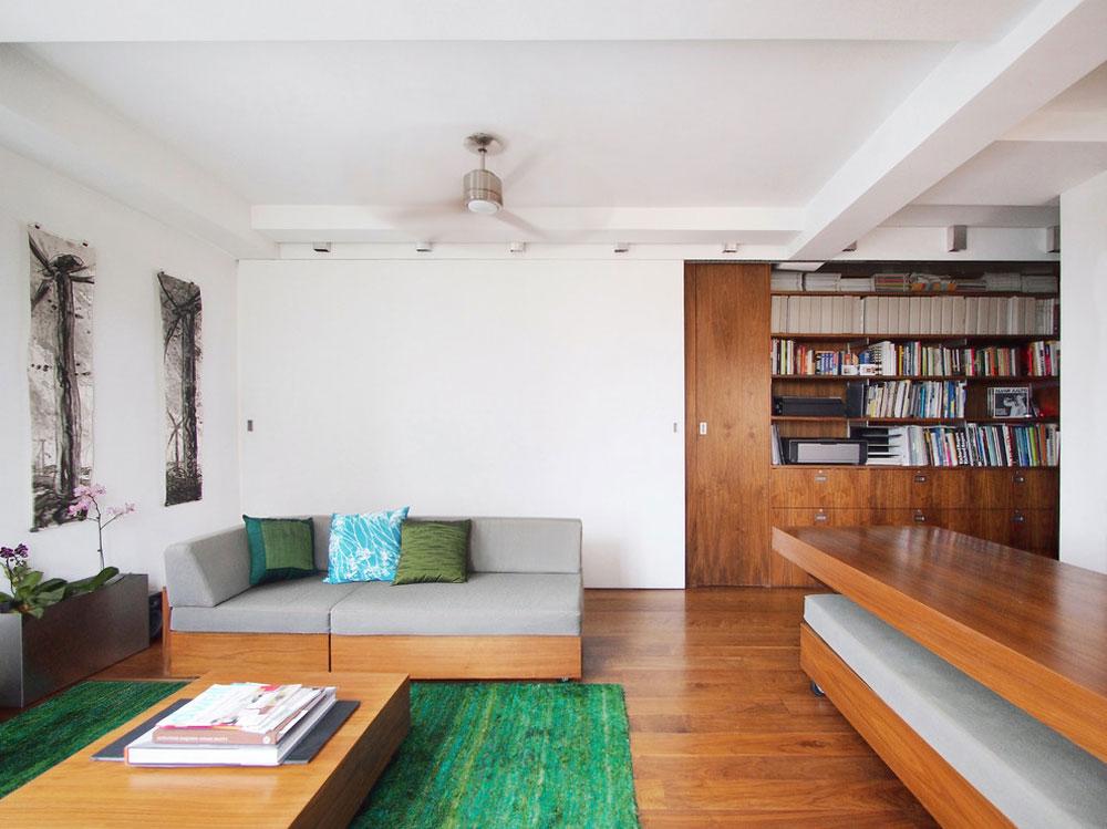 46 Building an energy-efficient house with an energy-saving interior design