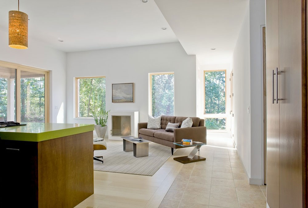 84 Building an energy-efficient house with an energy-saving interior design