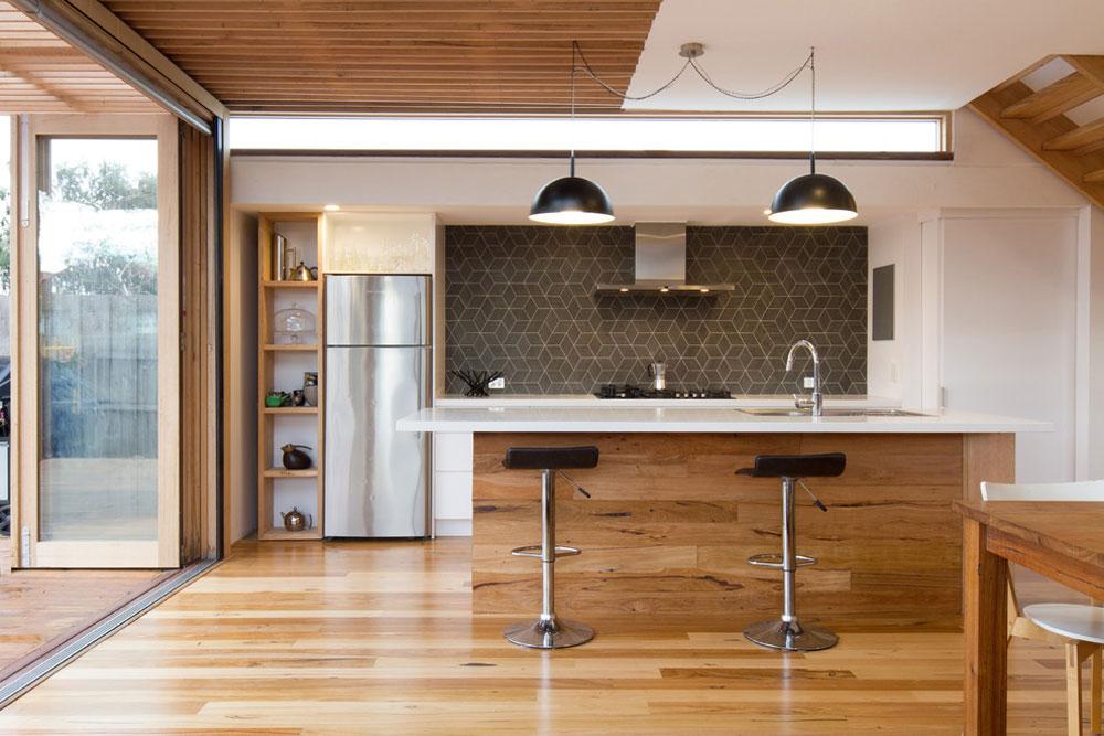 105 Building an energy-efficient house with an energy-saving interior design
