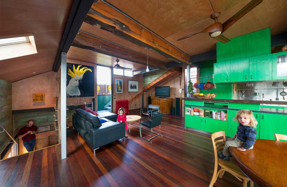 94 Building an energy-efficient house with an energy-saving interior design