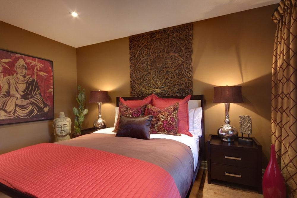 contemporary bedroom1 creating a zen interior design