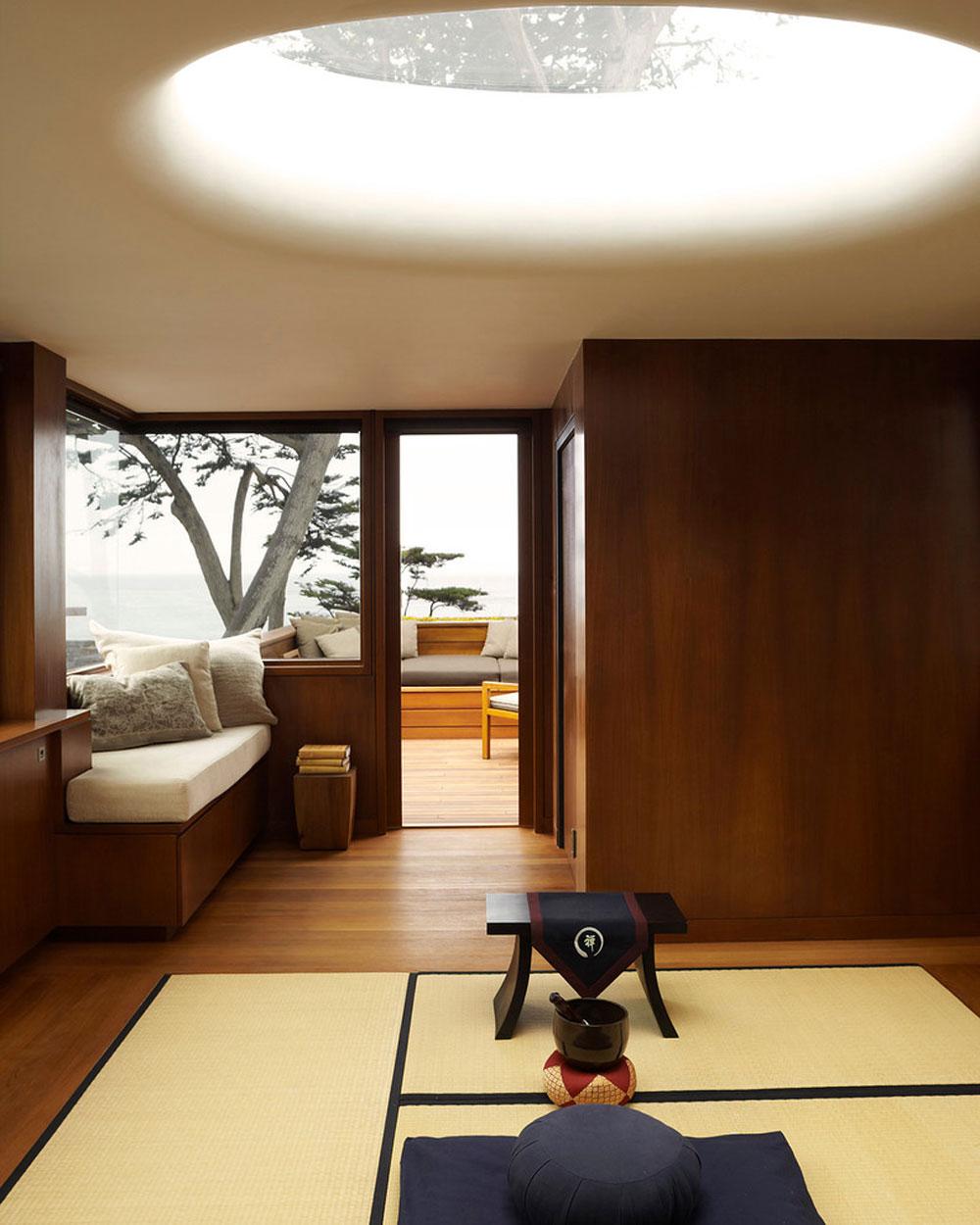 asian family room creating a zen interior design