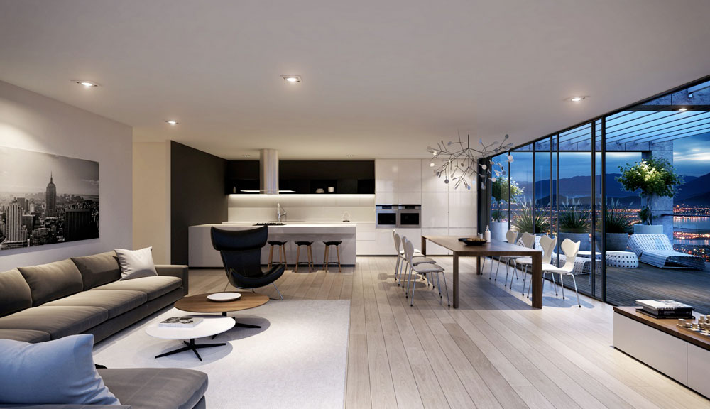 Avoid the crowds with a minimalist style 5 Avoid crowded interiors with a minimalist style