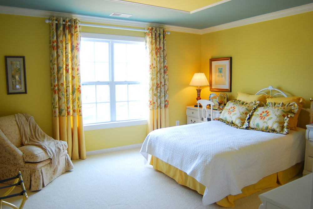 DON'T FORGET TO PAINT THE CEILING Master bedroom colors ideas and techniques