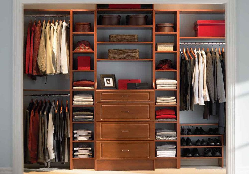 CLOSET-WALLS-AND-WARDROBES Space-saving solutions for tidy houses