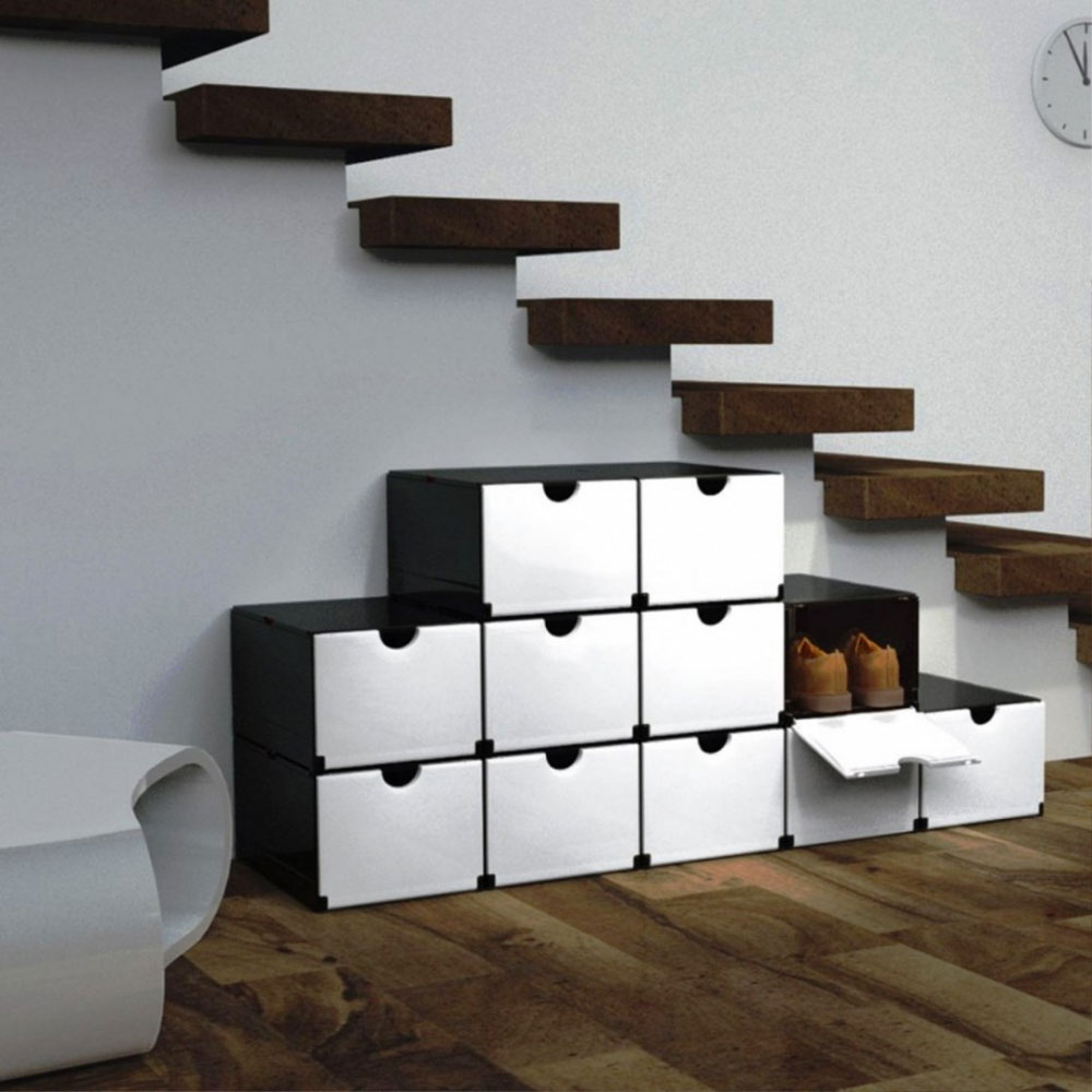 Shoe rack Space-saving solutions for tidy houses
