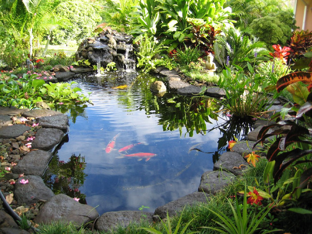 Create a Unique Back Yard With These Garden Pond Design Ideas-2 Create a Unique Back Yard With These Garden Pond Design Ideas