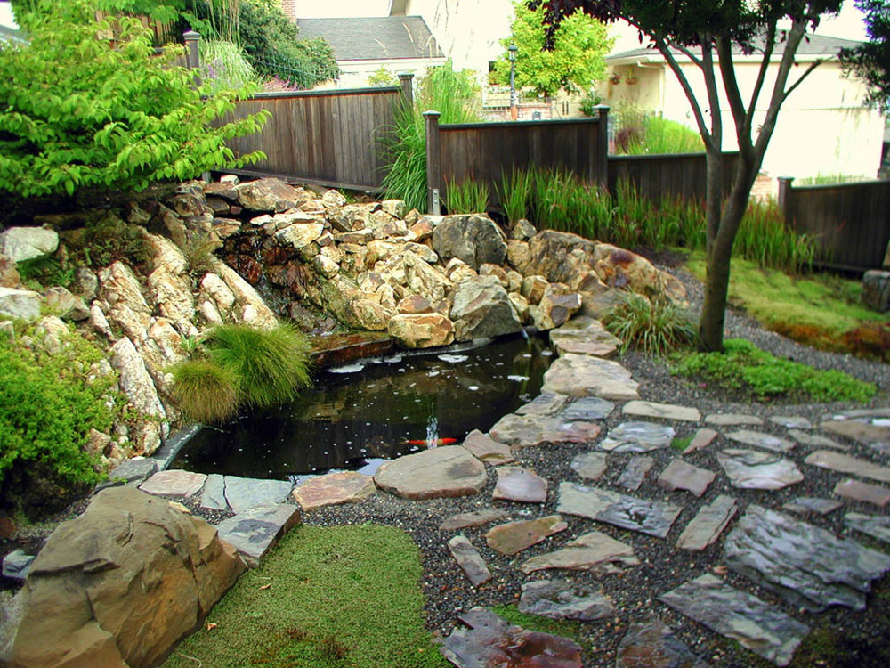 Create a Unique Back Yard With These Garden Pond Design Ideas-12 Create a Unique Back Yard With These Garden Pond Design Ideas