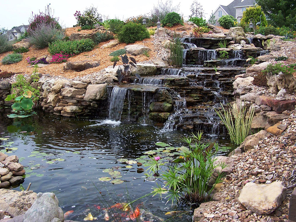 Create A Unique Back Yard With These Garden Pond Design Ideas-10 Create A Unique Back Yard With These Garden Pond Design Ideas