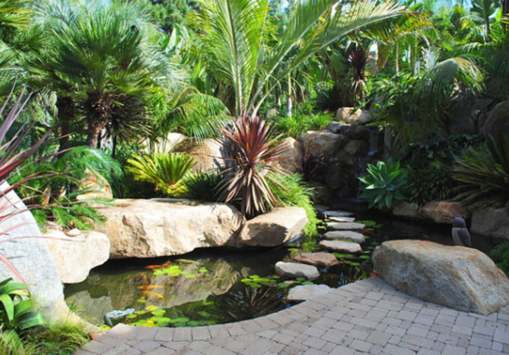 Create a Unique Back Yard With These Garden Pond Design Ideas-7 Create a Unique Back Yard With These Garden Pond Design Ideas