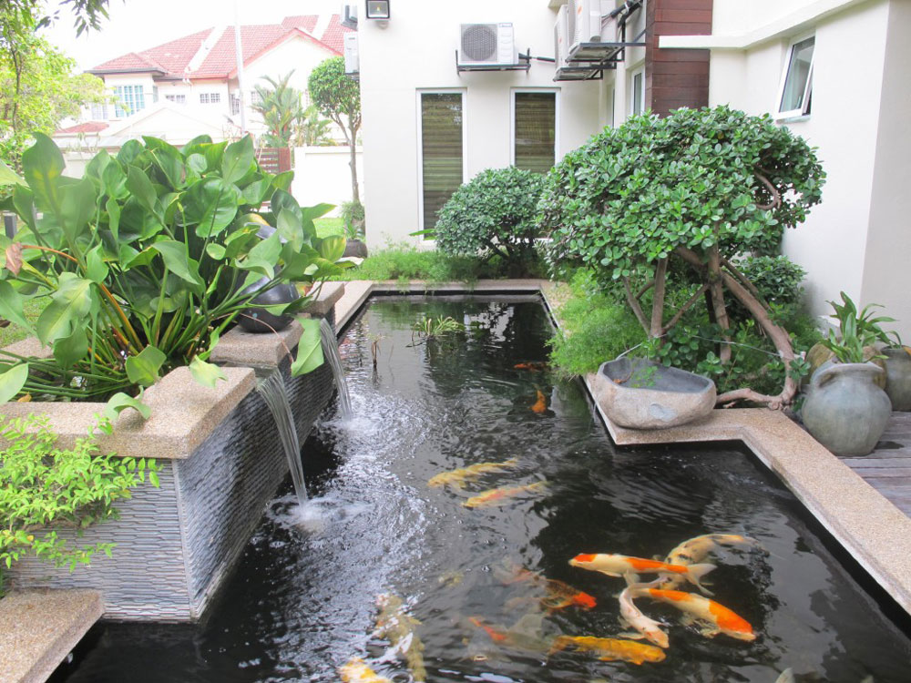 Create a Unique Back Yard With These Garden Pond Design Ideas-9 Create a Unique Back Yard With These Garden Pond Design Ideas