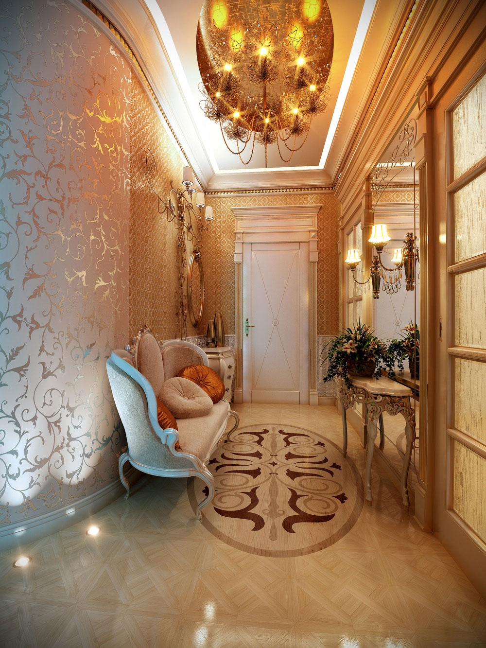 Warm Your Day With These Hallway Decorating Ideas-4 Warm your day with these hallway decorating ideas