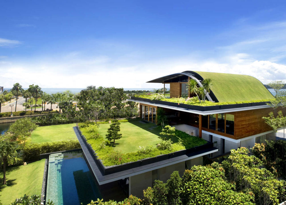 ECO-FRIENDLY ROOF - Green technologies for the home