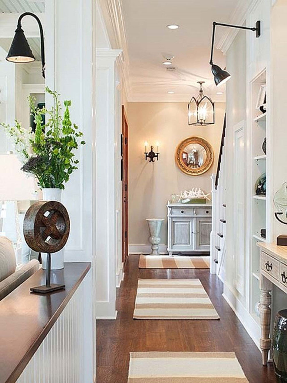 Hallway-wall-decoration-ideas-for-your-comfortable-home-13 hall-wall-decoration-ideas for your-comfortable-home