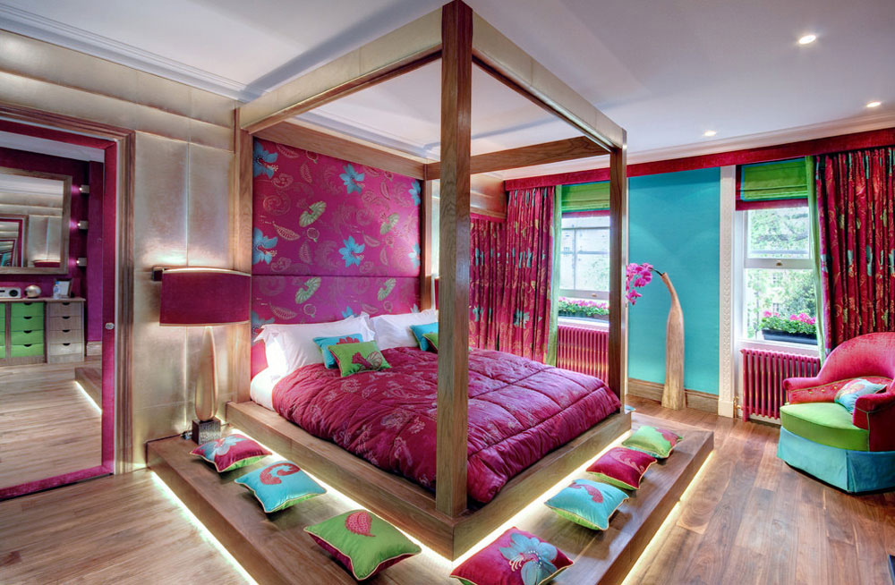 Enjoy your life with these colorful bedrooms.  4 Enjoy your life with these colorful bedrooms