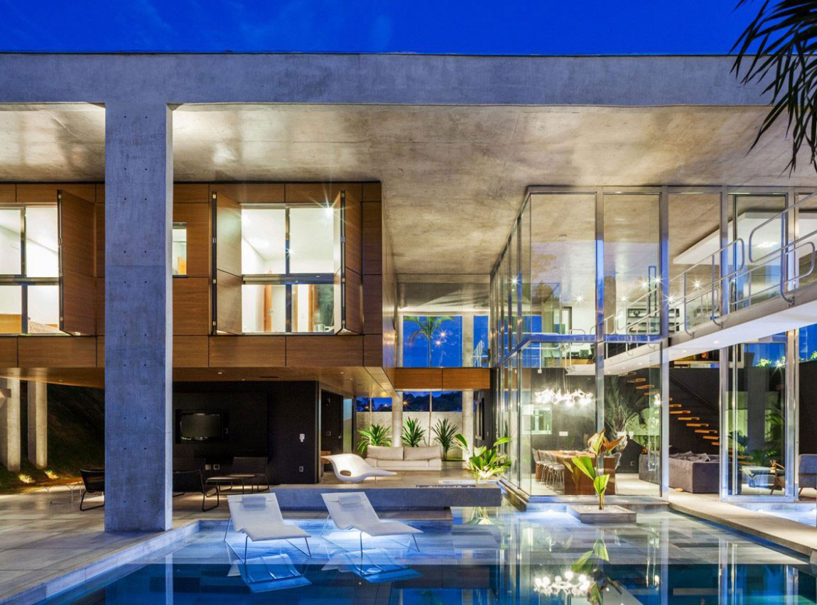 The Botucatu House stands as an architectural masterpiece 14 The Botucatu House stands as an architectural masterpiece