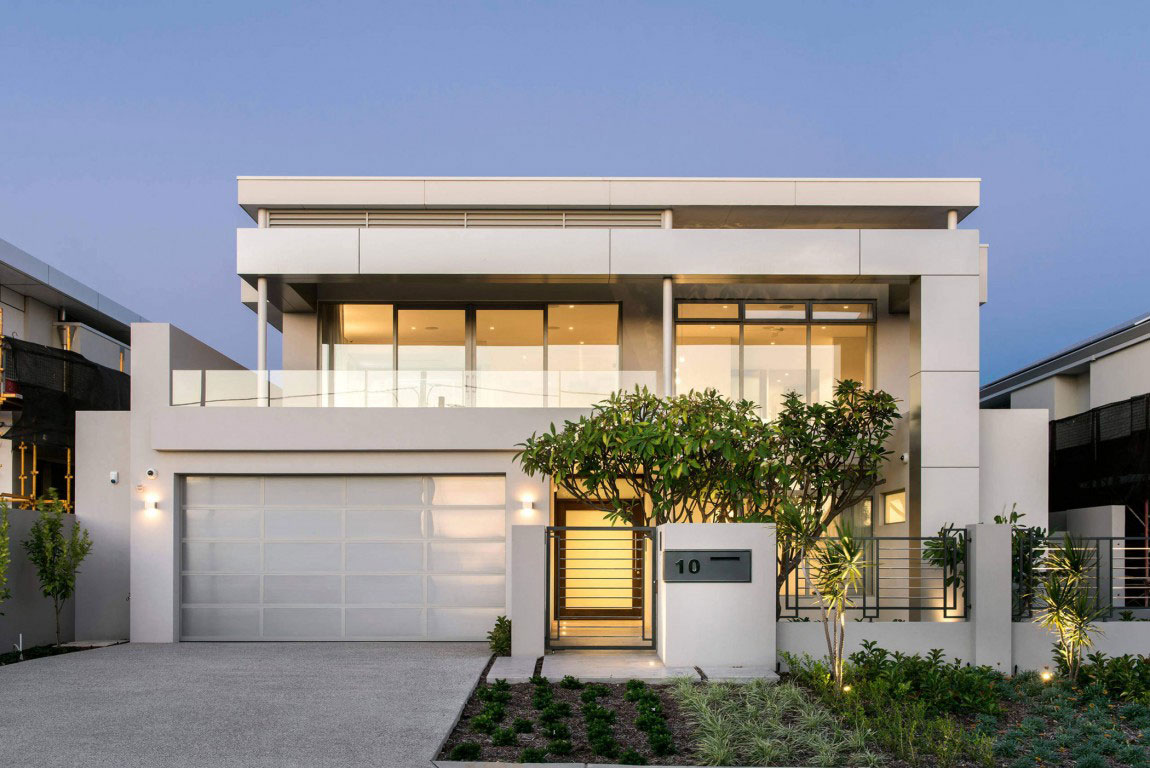 Attractive house with balanced architecture and interior design 2 Attractive house with balanced architecture and interior design